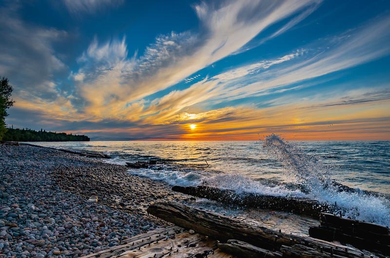 Sunset on the Graveyard Coast
