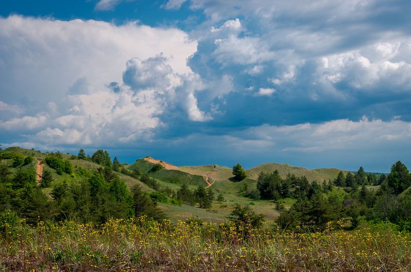 Summer Storm over Grand Sable Dunes