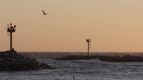 First Crop Video Test at a Ventura Beach at Sunset