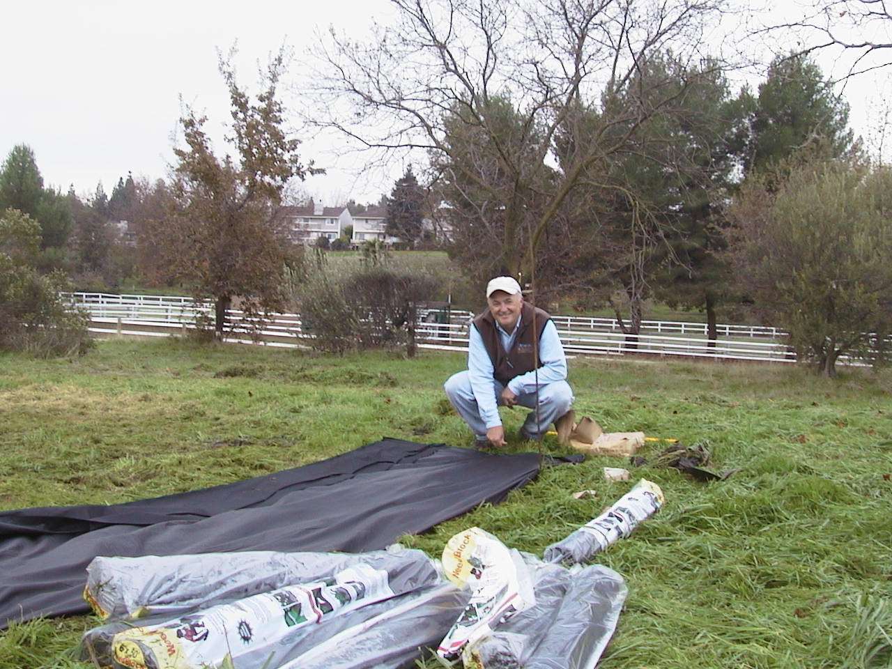 habitat restoration at Heather Farm Park