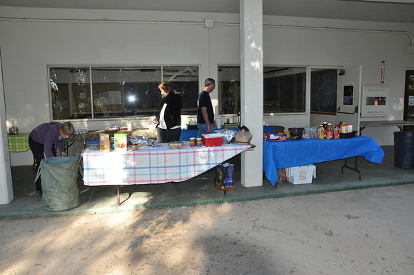 Pictures of food setup at March 2012 CC meeting