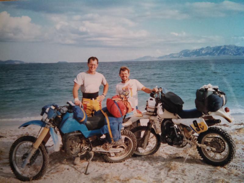 T C in Baja 1986