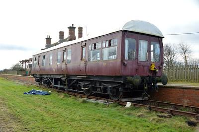 TDM 395279 LMS _RK, at Piddington former Station, Northants   21/02/16.