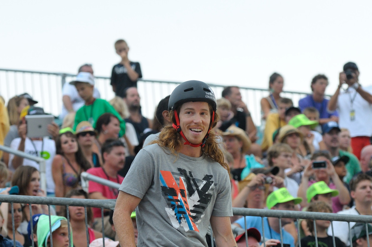 I heard a zillion comments about Shaun White, not one of them negative!