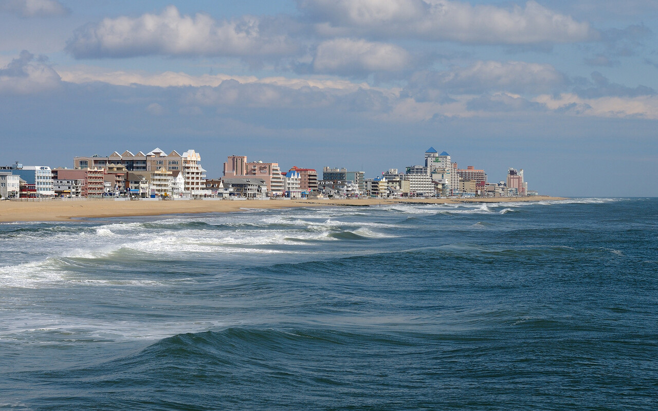 March23,2010  Taken from the Ocean City Fishing Pier courtesy of my friend David Horn who leases the Pier.