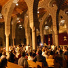 Over 300 people attend a classical concert at St. Giragos Church in Dikranagert on Monday, September 10.
