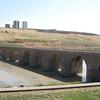 """Ten Eyes Bridge"" crosses the Tigris River (11th century)."