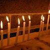 Candles at St. Giragos Church.