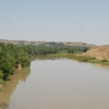 The Tigris River.