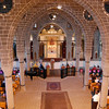 The morning service at St. Giragos Church.
