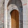 The door of Holy Trinity Church.