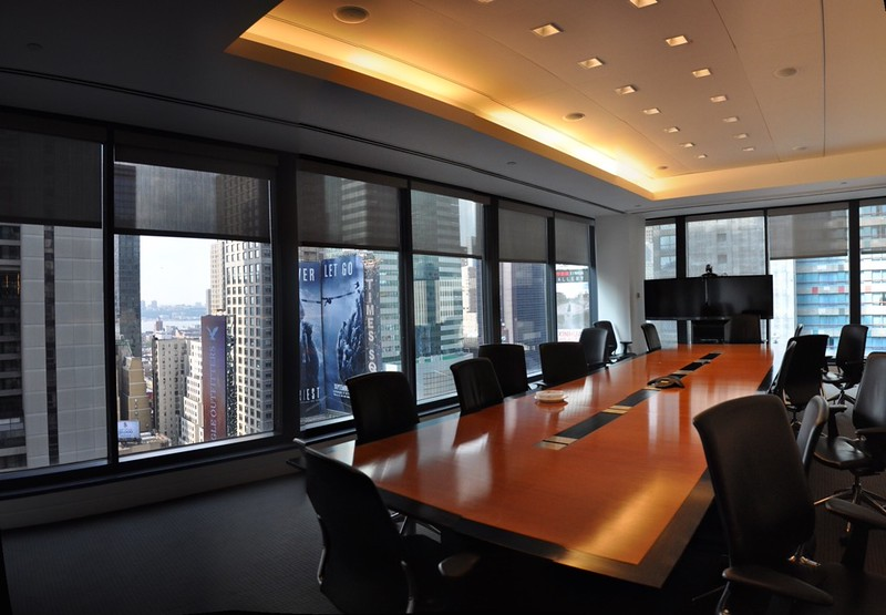 Conference Room (facing West) - partial river view