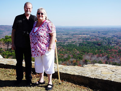 My Sister Barbara and her husband Ralph.   They recently moved here from Iowa.