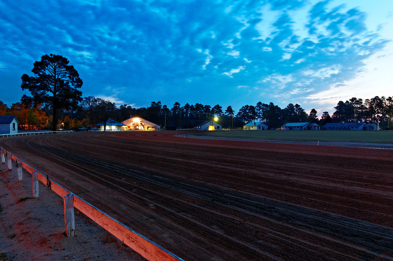 Pinehurst Track at Dawn