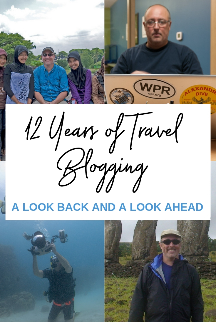 12 years of blogging pin