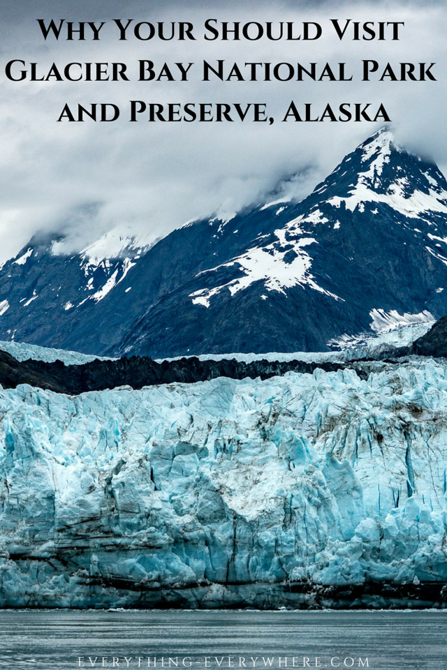 Pinterest Image Glacier Bay National Park