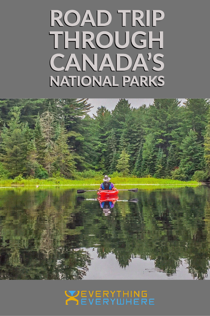 Canada National Park Road Trip - Pinterest Image