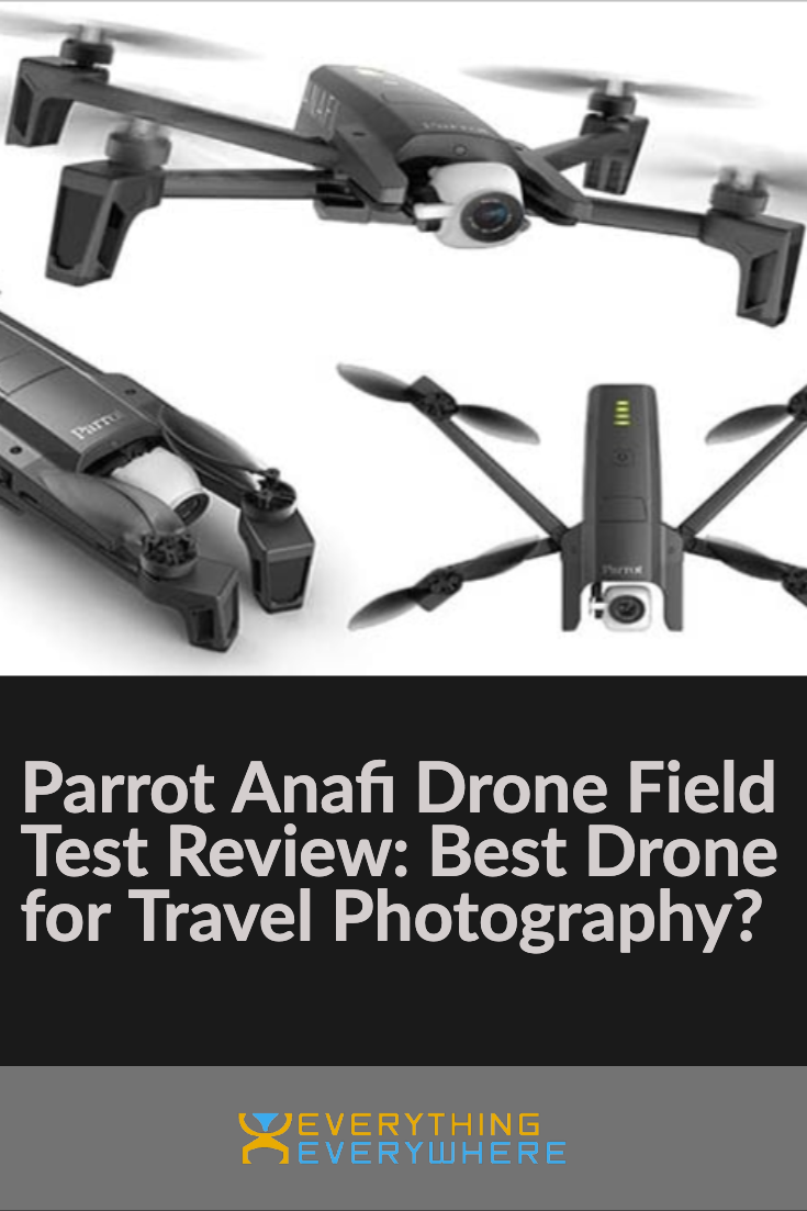 Parrot Anafi Drone - Pinterest Image