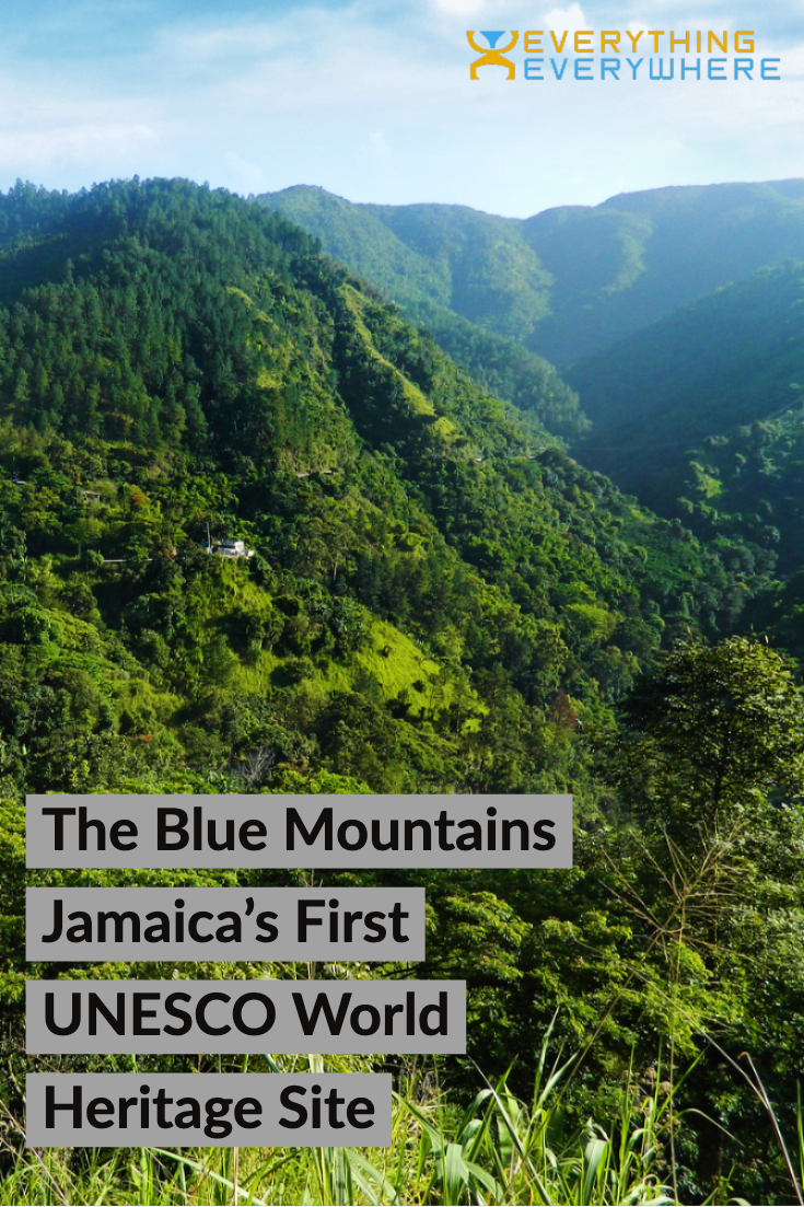 Jamaica Blue Mountains - Pinterest Image