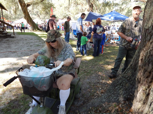 Mayo's 34th Annual Pioneer Day Parade and Festival held Saturday, Oct. 12 couldn't have been more perfect. The town park was overflowing with people as they browsed all the vendors and watched their kids enjoy the many fun activities, while over at the gazebo main stage there was nonstop entertainment.