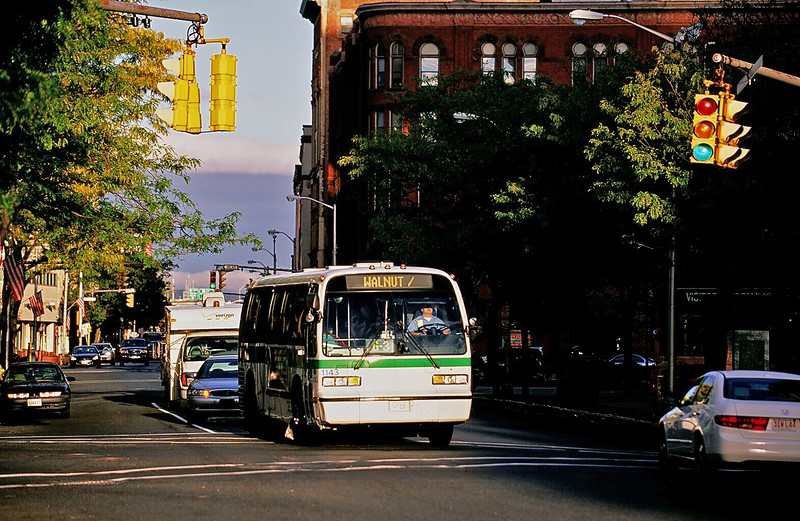 PVTA G3 to Walnut/Springfield College at Main & Harrison