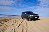 Shots of my Land Cruiser next to the ocean on Pismo Beach
