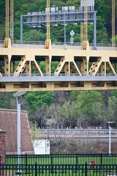 Bridge and runners.