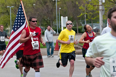 Kilted runner.