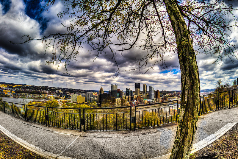 Mt Washington Overlook, Pittsburgh PA