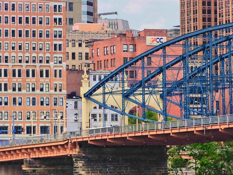One of Pittsburgh's many bridges.
