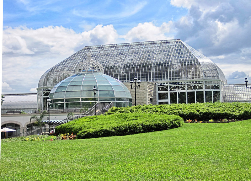 The amazing Pittsburgh botanical gardens. The theme for the month was gargoyles.