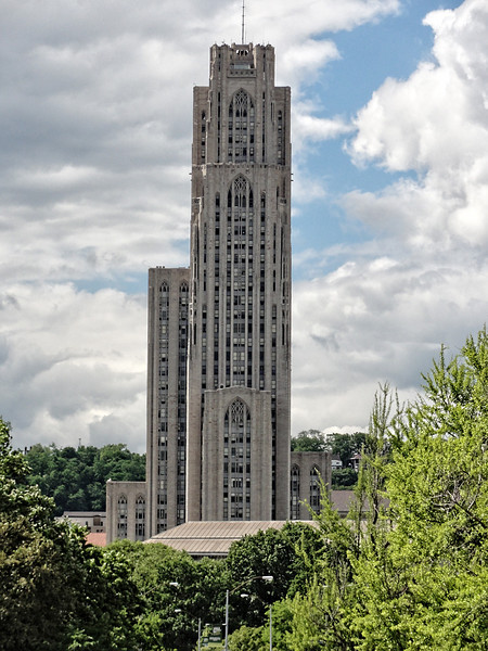 """The """"cathedral"""" which is not actually a cathedral, but an area for study/classes on the U of P campus ."""