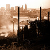 J&L Steel Mill Pittsburgh 1967