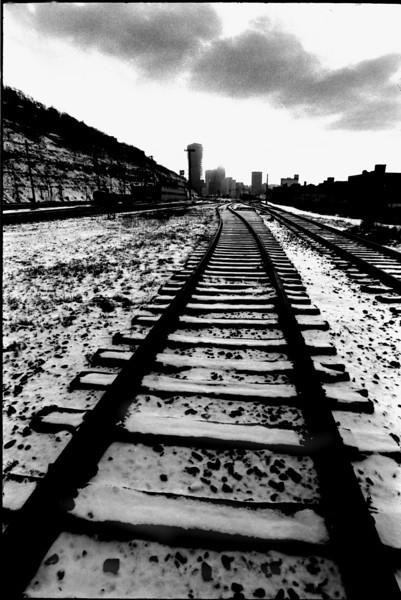 USX Tracks Pittsburgh