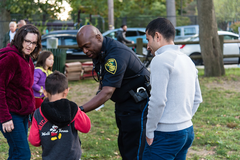 Pizza with Police at the Park 2019_ERF4492