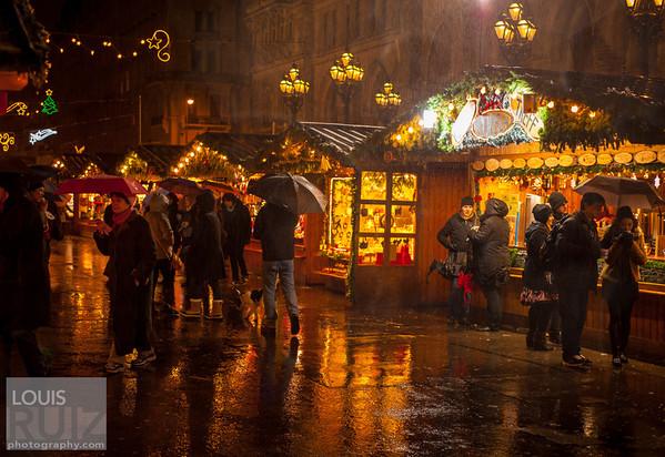 Rainy Viennese Christmas Eve