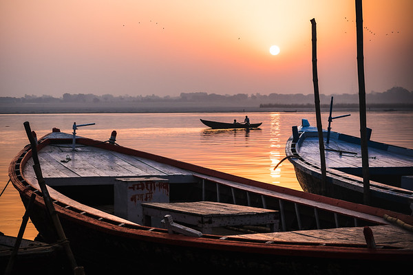 Ganges River Sunrise