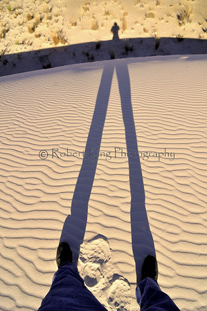 White Sands National Monument is a stange natural place, especally when the sun is low.   In the few hours I was there I was constantly under this feeling that I was in another world.  I am going back soon.