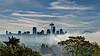 foggy day in Seattle