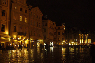 Rainy Night in Prague