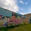 Grafitti på Jagtvej i København