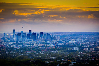 Brisbane at Dawn (HDR)