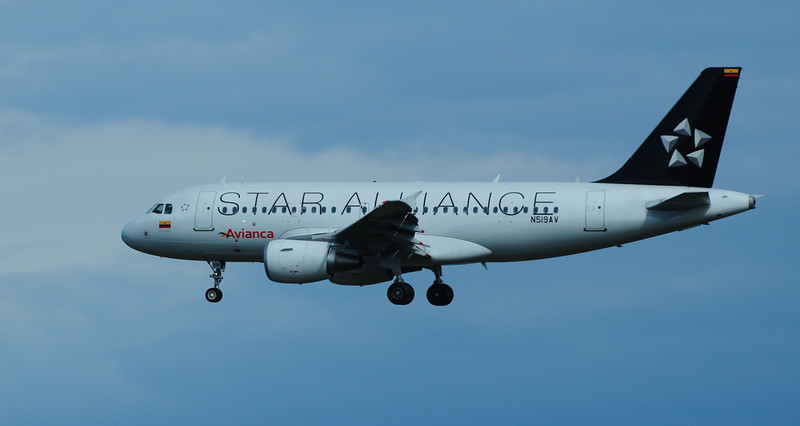 Star Alliance Airbus A319 or it might a A320