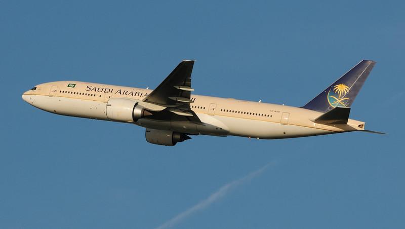 Saudi Arabian Airlines Boeing 777.