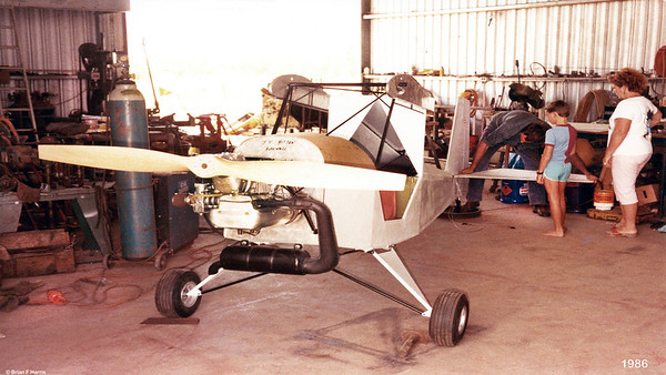 Customer and friend of ours at Capella is well advanced building his own plane. He went on to finish this one. Did lots of trips in it and then built another one, a different model. He is well qualified and a true tradesman.