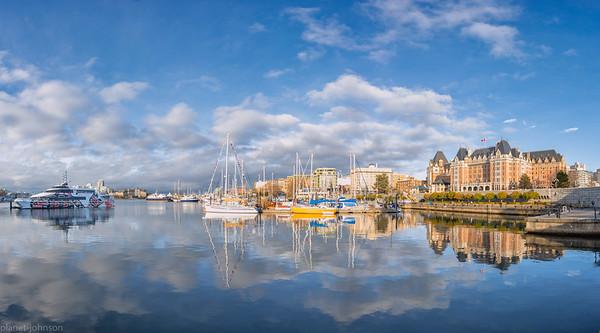 BlueSky over Victoria BC
