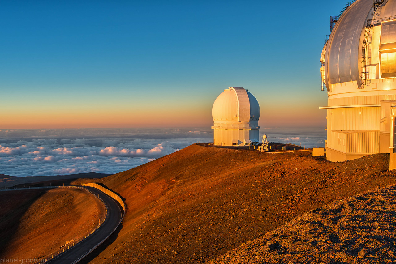 Mauna Kea, Big Island, Hawaii at 13,000 ft