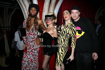 Andre J, , Amanda LePore,Lady Fag, Caswell
