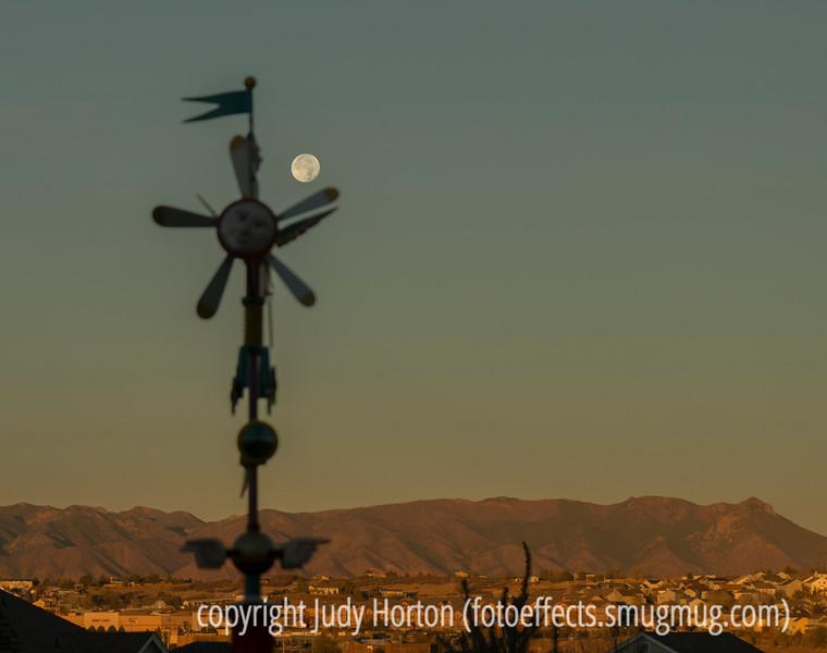 Harvest Moon Setting