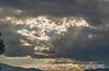 Rays Near Sunset
